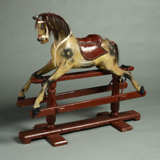 An Early 20th Century Edwardian Period Rocking Horse