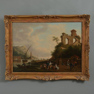 18th Century Coastal Landscape