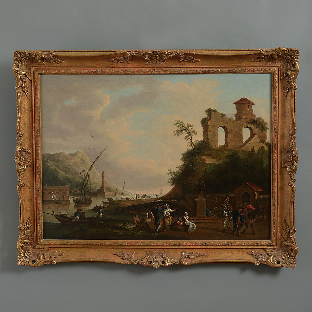 18th Century Coastal Landscape