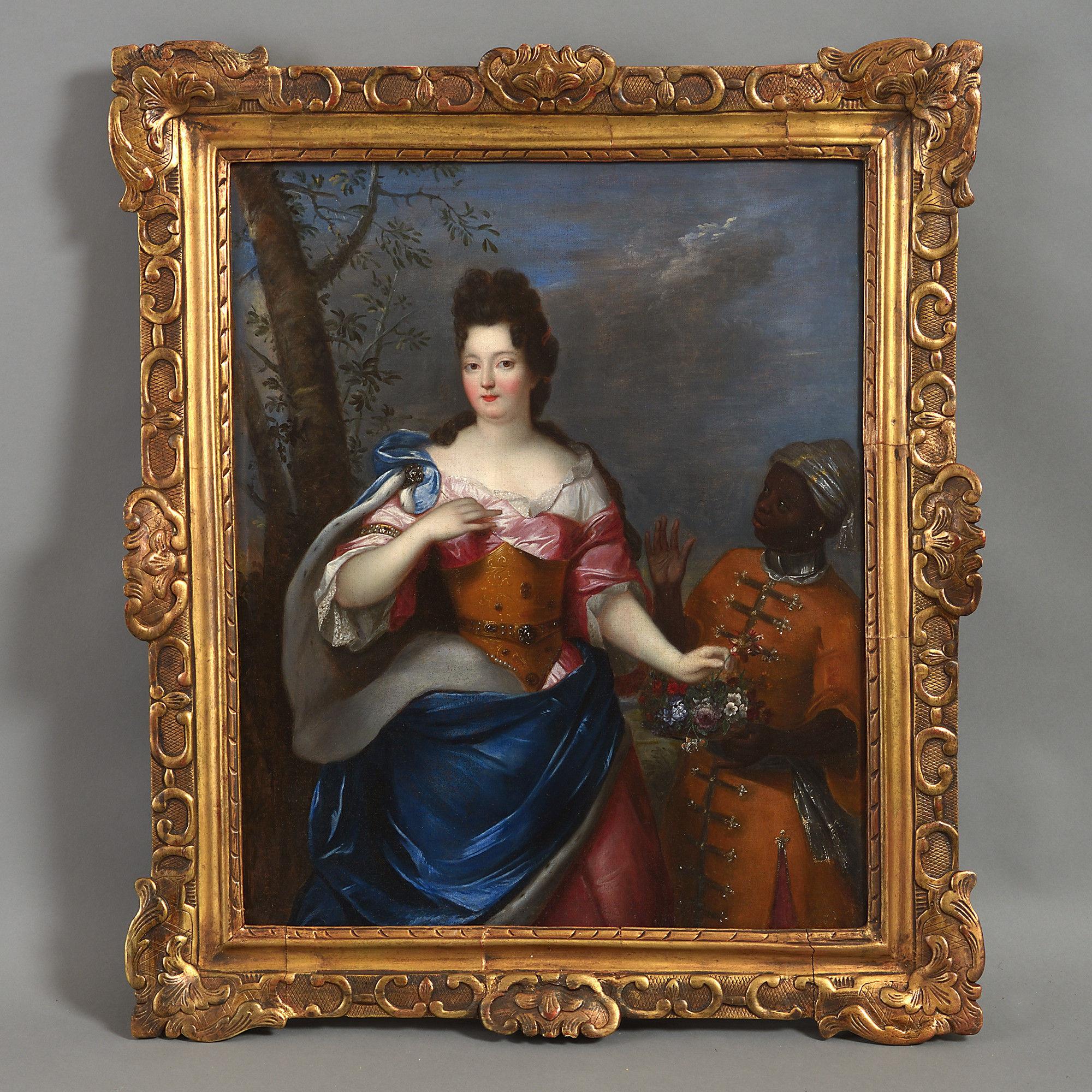 Studio of Pierre Gobert – Portrait of Madame de Maintenon