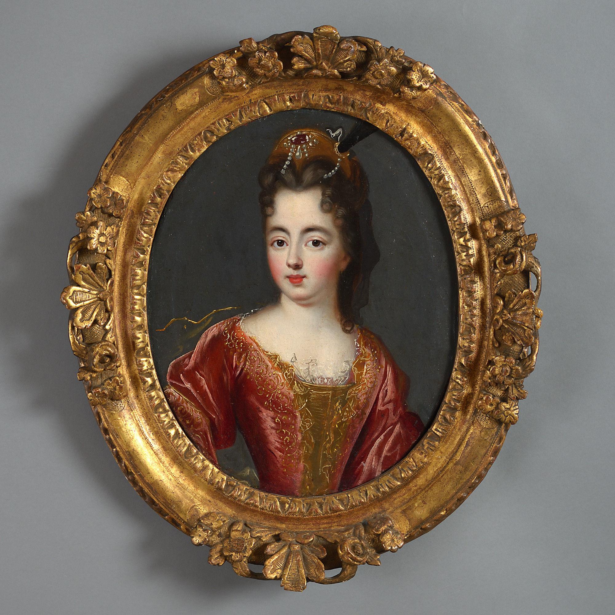 Portrait of Louise Francoise de Bourbon, Circle of Francois de Troy