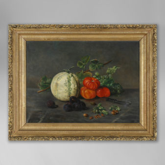 A Late 19th Century Still Life of Fruit