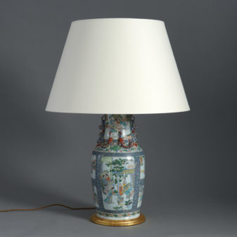 Famille Verte Table Lamp