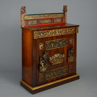 William IV Rosewood Cabinet
