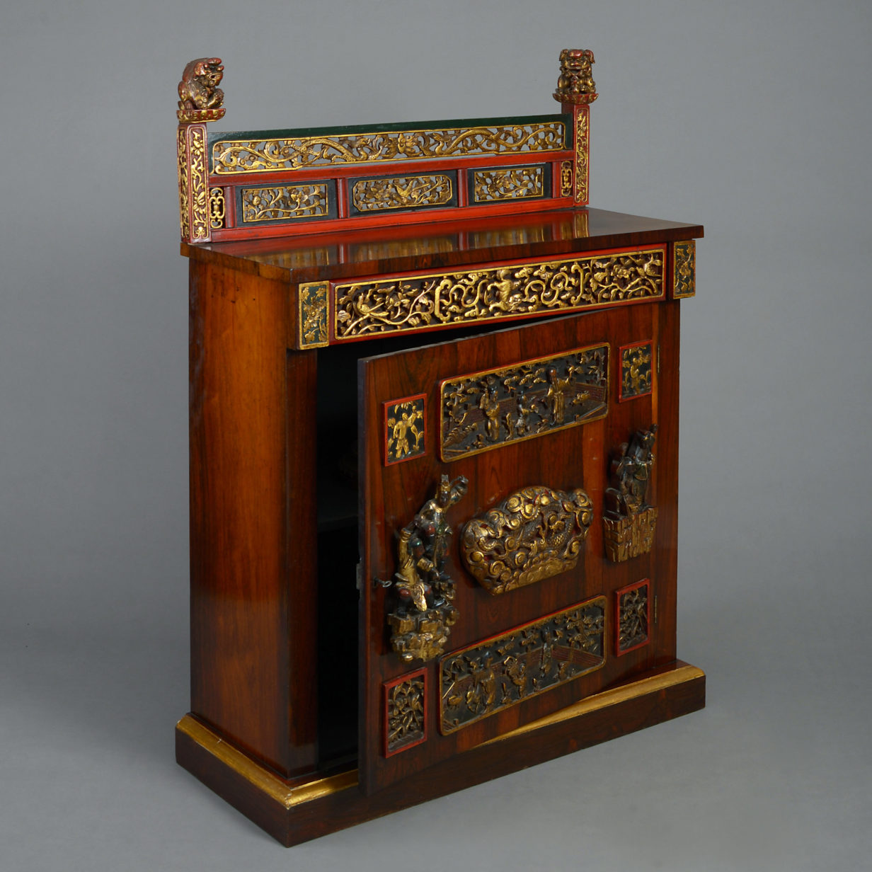 William IV Rosewood Cabinet