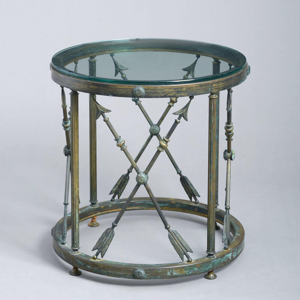 Bronze Drum Table