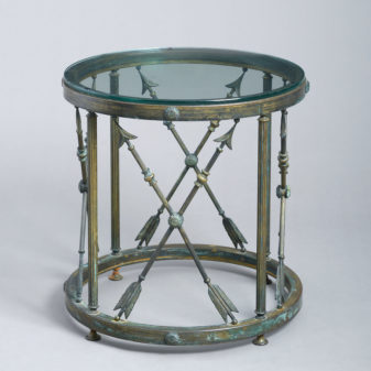 Bronze Drum Table