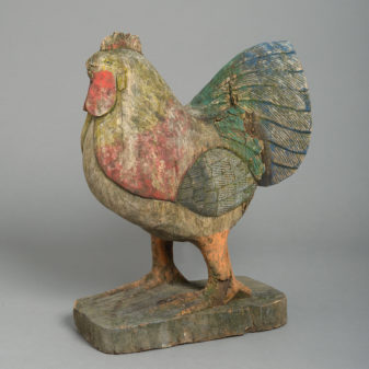 A Carved Chicken
