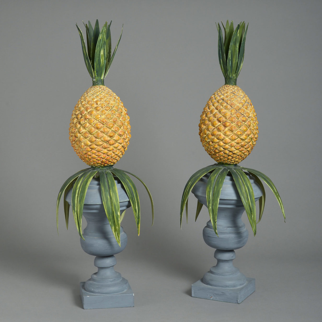 Pair of Pineapple Finials