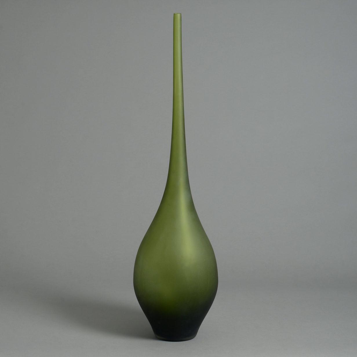 A Tall Art Glass