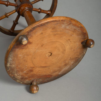 Ships Wheel Stick Stand