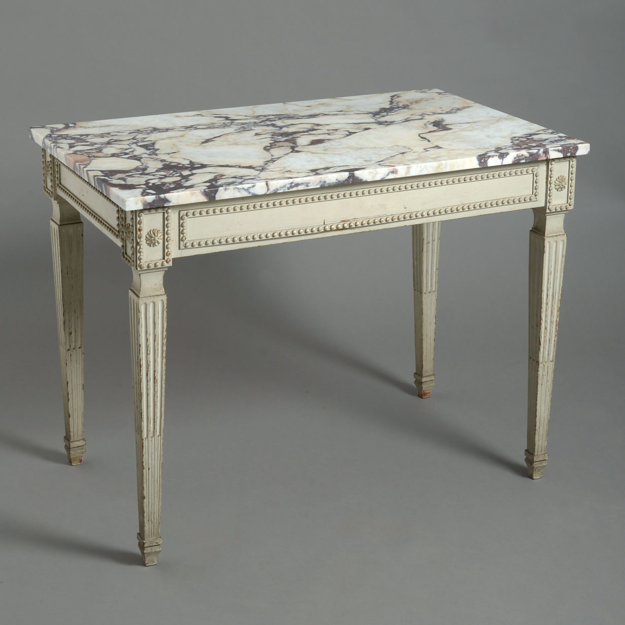 Louis XVI Marble Topped Table