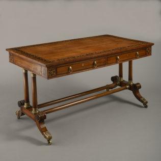 A Sabicu Writing Table