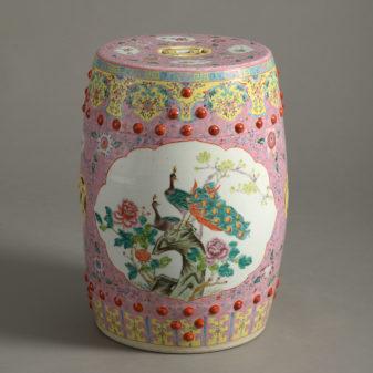 Porcelain Garden Seat
