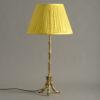 Gilt Faux Bamboo Lamp