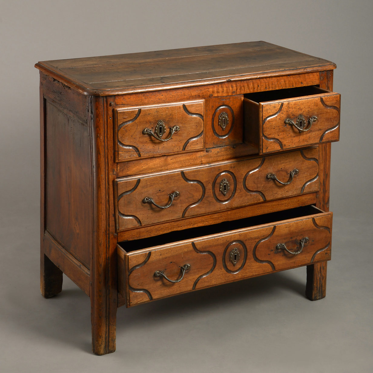 Louis XV Walnut Commode