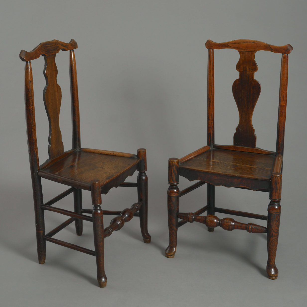 Four Shropshire Elm Chairs