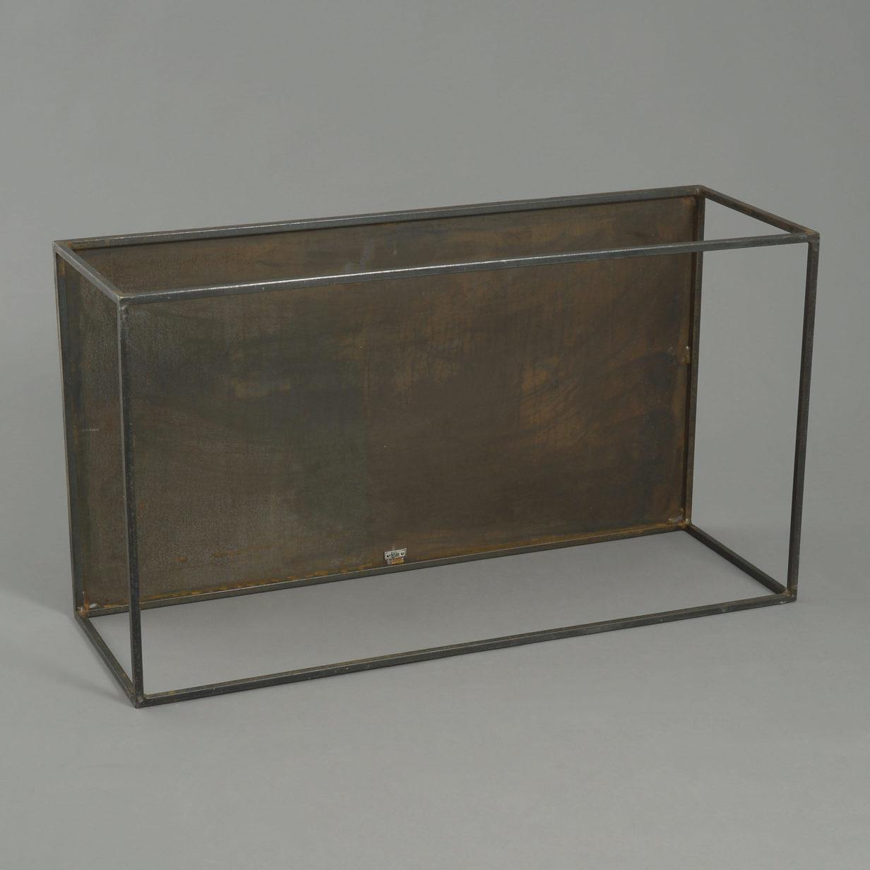 Mid-Century Steel Low Table