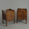 Pair of George III Bedside Cupboards