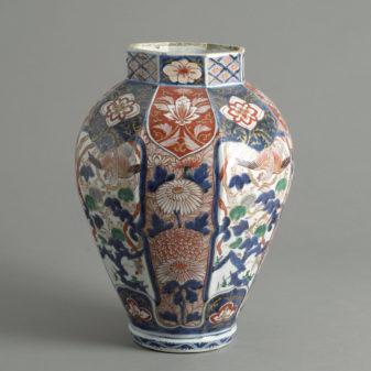 Large Imari Vase