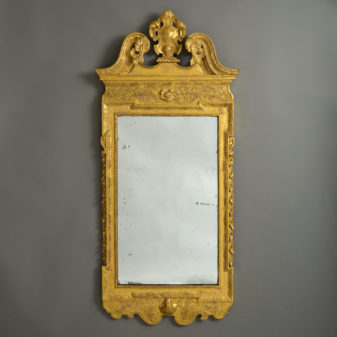 A William Kent Giltwood Mirror