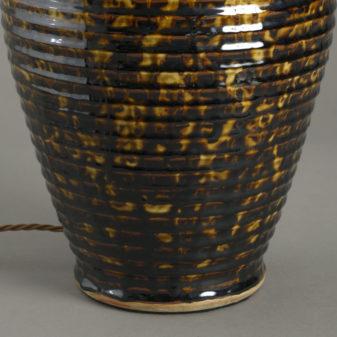 Tortoiseshell Vase Lamp