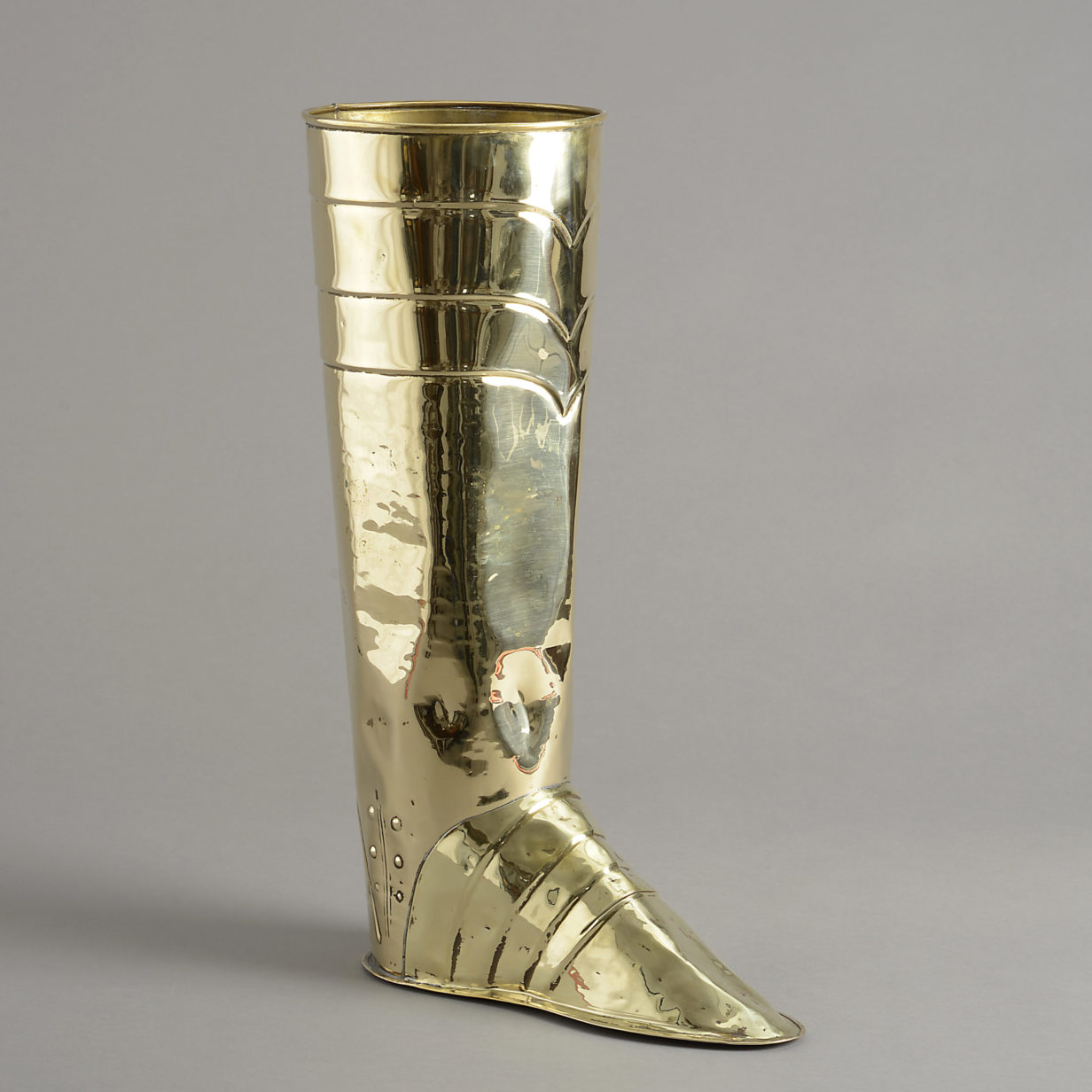 Brass Boot Stick Stand