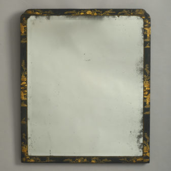 George II Japanned Mirror