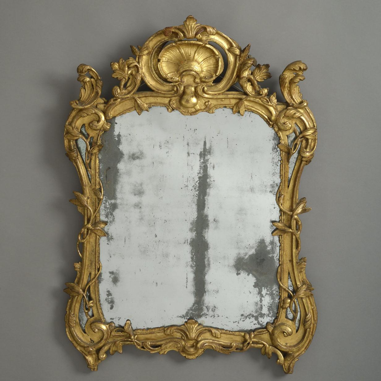 Louis XV Rococo Mirror