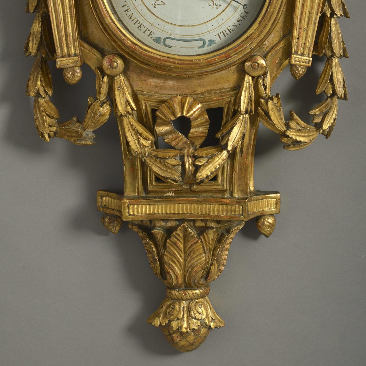 A Cartel Barometer