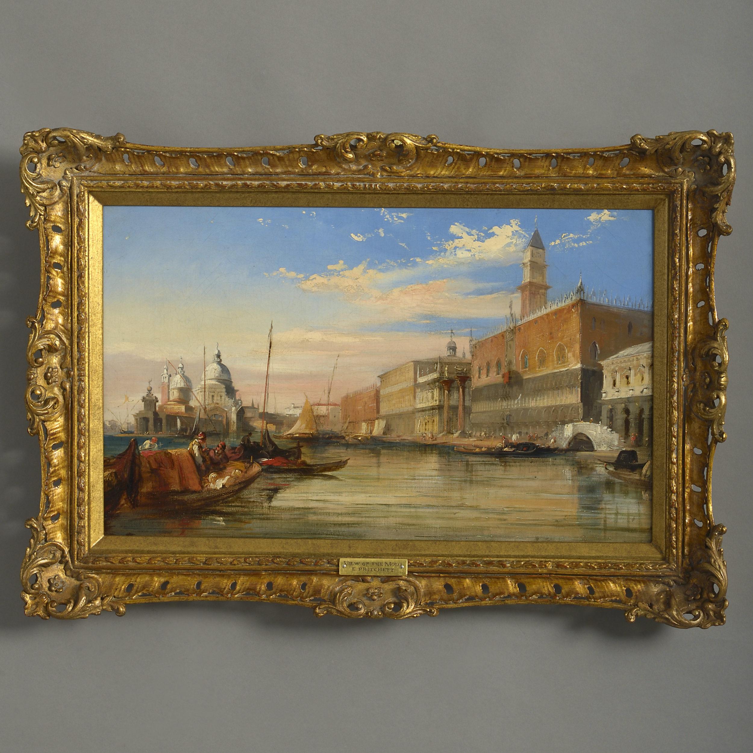 Edward Pritchett Venice View