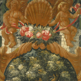 Pair of Allegorical Panels