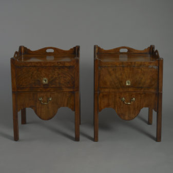 Pair of Mahognay Bedside Cabinets