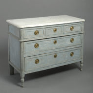 Painted Louis XVI Commode By LEBAS