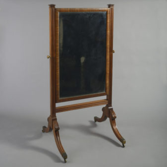 Regency Cheval Mirror