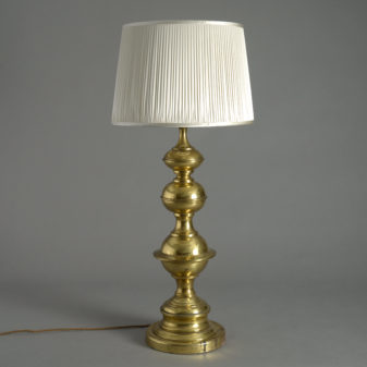 Mid-Century Triple Gourd Lamp