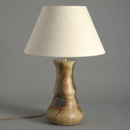 Studio Pottery Vase Lamp