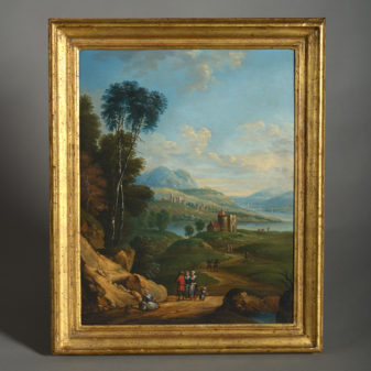 Pair of North European Landscapes