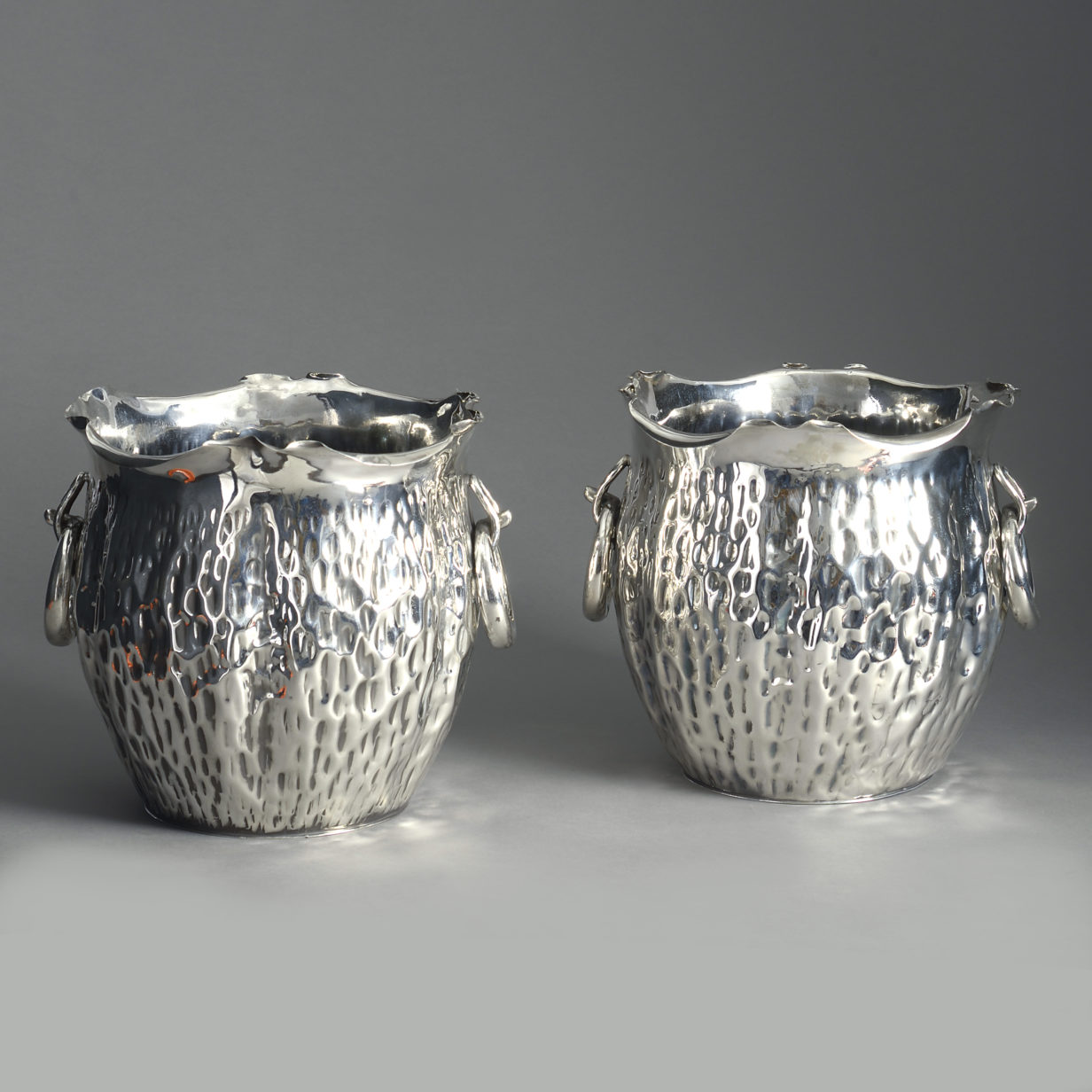 Pair of Hukin and Heath Planters