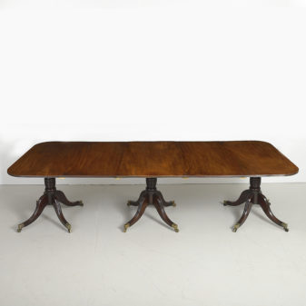 Three Pillar Dining Table