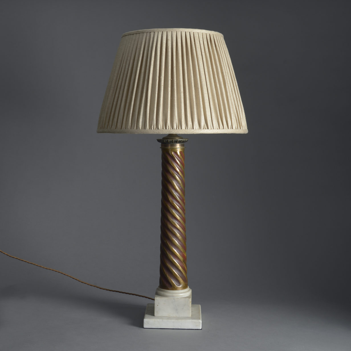Spiral Column Lamp