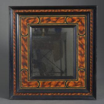 Faux Tortoiseshell Mirror