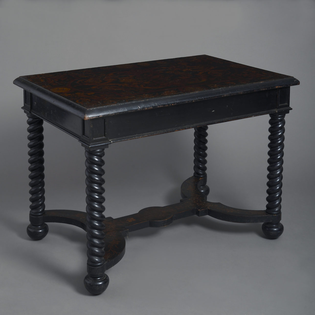 Ebonised Centre Table