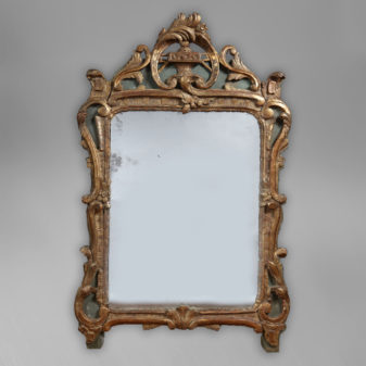 Louis XV Period Parcel Gilt Mirror