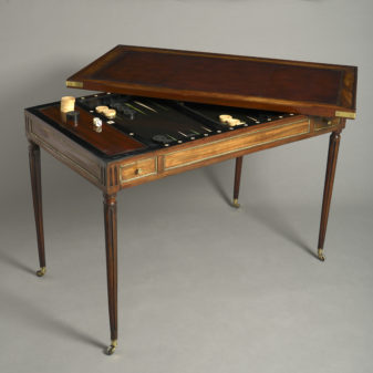 Louis XVI Tric Trac Table