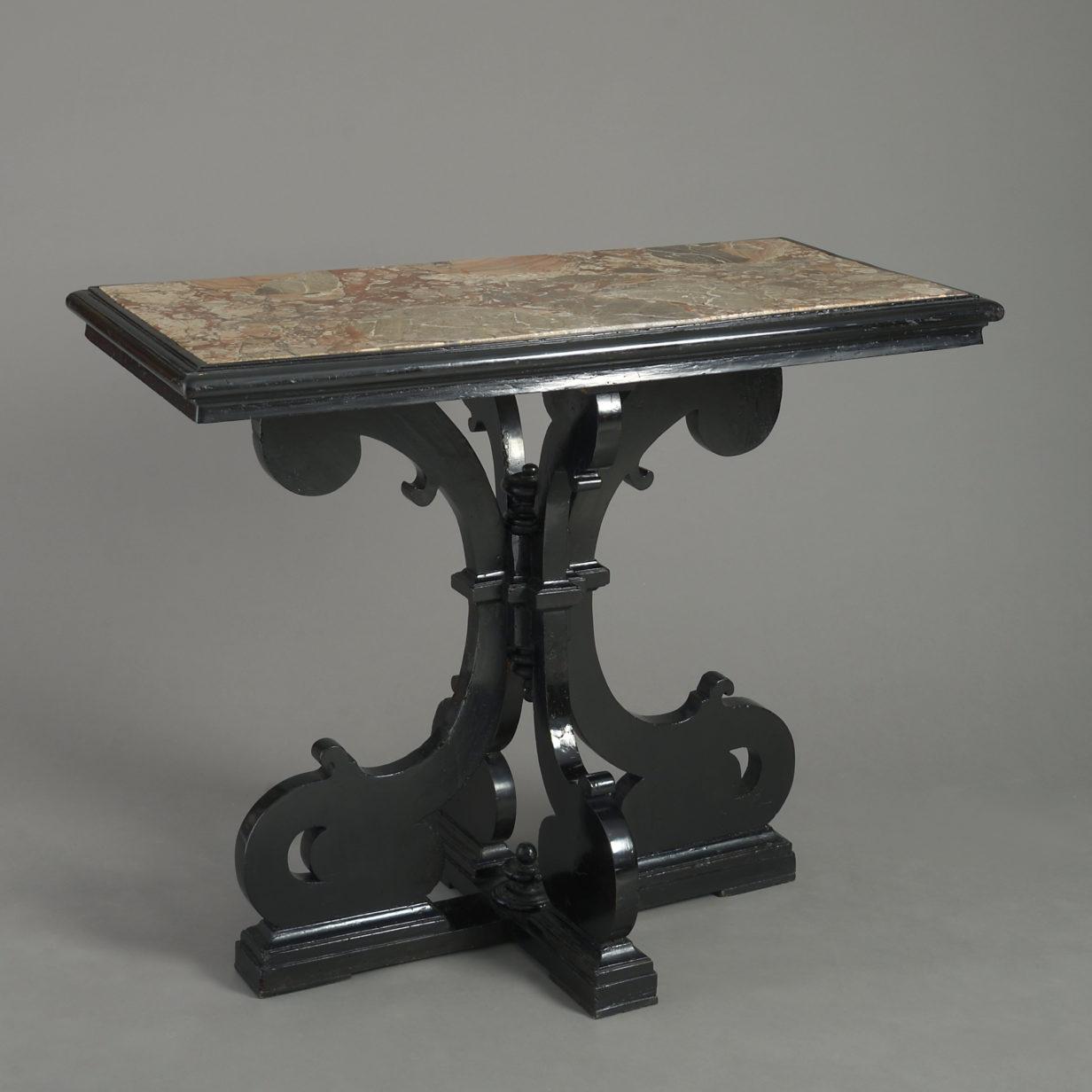 17th Century Italian Centre Table
