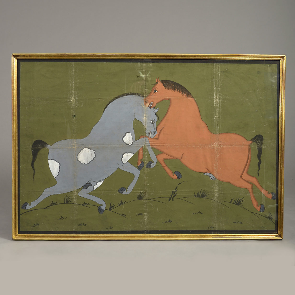 Indian Equestrian Painting