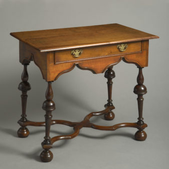 Walnut Stretcher Table