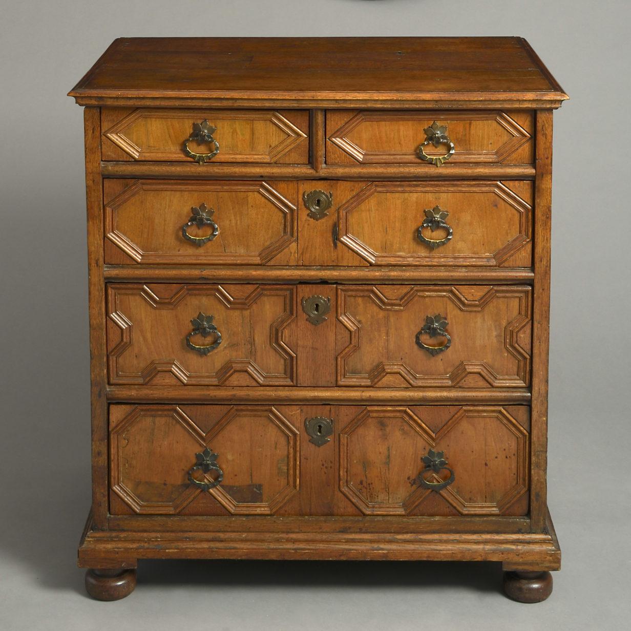 Charles II Geometric Chest