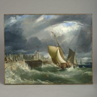 Coastal Scene Oil
